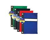 BAZIC Assorted Color 3-Ring Pencil Pouch