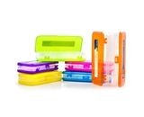 BAZIC 8 Bright Color Double Deck Organizer Box