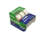 BAZIC 3/4 X 500 Invisible Tape (3/Pack)