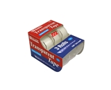 BAZIC 3/4 X 500 Transparent Tape (3/Pack)