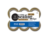 BAZIC 1.88 X 109.3 Yards Tan Packing Tape (6/pack)