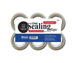 BAZIC 2.83 X 109.3 Yard Clear Packing Tape (6/pack)