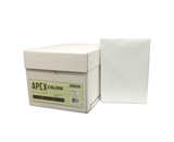 APEX 8.5 X 11 Green Colored Copy Paper (10 reams/case)