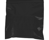 3- x 3- - 2 Mil Black Reclosable Poly Bags - PB3540BK