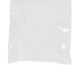 3- x 3- - 2 Mil White Reclosable Poly Bags - PB3540W
