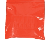 5- x 8- - 2 Mil Red Reclosable Poly Bags - PB3585R