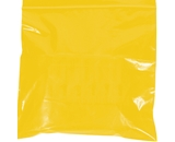 10- x 12- - 2 Mil Yellow Reclosable Poly Bags - PB3655Y