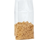 5 1/4- x 3- x 13- - 1.5 Mil Gusseted Polypropylene Poly Bags - PBG130