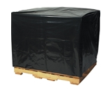 51- x 49- x 85-  - 3 Mil Black Pallet Covers - PC160