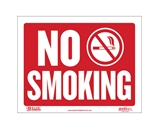 BAZIC 9 X 12 No Smoking Sign