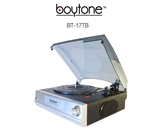Boytone BT-17TB MULTI RPM TURNTABLE WITH AUX/RCA/3.5mmCONNECTIVITY