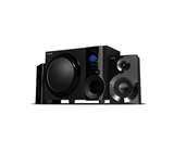 Boytone 2.1 Wireless Bluetooth Speaker Powerful Bass System with FM radio USB/SD slot 2 detachable speaker remote control 30 watt power BT-210FD