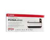 Canon PIXMA MP480 USB 2.0 All-in-One Color Inkjet Printer Scanner Copier Photo Printer w/Card Reader & 1.8- LCD