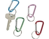 Carabiner Band Clips, 12 Clips Per Pack - Assorted Colors -2- Size