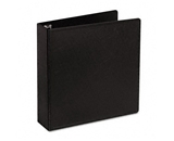 Cardinal Heavy-Duty EasyOpen Slant D-Ring Binder, 2- Capacity, Black