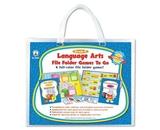 Carson-Dellosa 140020 File Folder Games-To-Go, Language Arts, Kindergarten