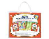 Carson-Dellosa 140027 File Folder Games-To-Go, Mat, Third Grade