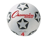 Champion Sports Size 4 Rubber Soccer Ball