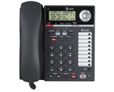 Consumer Electronic Products AT&T 993 2-Line Phone w/Caller ID Charcoal Supply Store