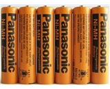 Consumer Electronic Products Panasonic NiMH AAA Rechargeable Battery for Cordless Phones x six 6 aaa 7