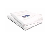 Coverbind 1/16- White Classic Advantage Thermal Covers 100pk - 575800