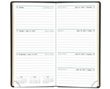 Day-Timer Slim Weekly Planner, Black, 3.375 x 6.25 Inches, January 2013 Start (D13551-1301)