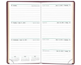 Day-Timer Slim Weekly Planner, Burgundy, 3.375 x 6.25 Inches, January 2013 Start (D13553-1301)