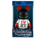 Disney Vinylmation New York Series 9-- Figure I Mickey NY Shirt Great Figure