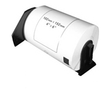 Brother DK1241 Compatible 4- x 6- White Labels
