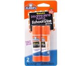 Elmer-s Disappearing Purple School Glue Sticks, 0.21 oz Each, 2 Sticks per Pack (E522)