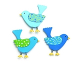 Embellish Your Story Bird Magnet Set