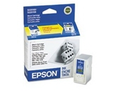 Epson S020108 Stylus Ink Jet Cartridge (Black) 2 PACK GENUINE EPSON