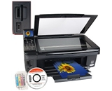 Epson Stylus NX515 USB 2.0/Ethernet/PictBridge/802.11g Printer Scanner Copier Photo Printer w/Card Reader & 2.5- LCD
