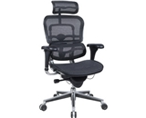 Ergohuman Executive Chair With Headrest - Black