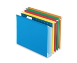 Esselte Colored Box Bottom Hanging Folder - Letter - 8.5- x 11- - 2- Capacity - 2- Capacity - 25 / Box