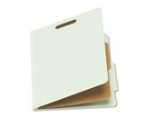 ESSELTE CORPORATION - Gray Letter Size 4-Section Pressboard Folder 10/BOX