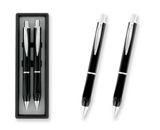 Executive Gift Boxed Pen and Pencil Set Black