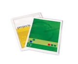FEL52205 - Self-Adhesive Laminating Pouches, 11-1/2x9, 5/PK