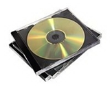 Fellowes 10-Pack CD Jewel Cases (98328)