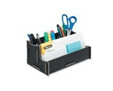 Fellowes 8015201 - Earth Series 100% Recycled Organizer, Black
