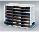 Fellowes Bankers Box 21-Compartment Literature Sorter, Letter (04210)