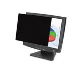 Fellowes : Black-Out Antiglare Privacy Filter for 17- LCD/Notebook, Frameless -:- Sold as 2 Packs of - 1 - / - Total of 2 Each