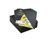 Fellowes Executive Presentation Covers, Black, 8 3/4 Inch X 11 1/4 Inch, 200 Per Pack, Black (52149)