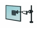 Fellowes Inc Depth Adjust Monitor Arm, 21-X24-X4-3/8-, Black [Electronics]