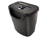 Fellowes Inc Shredder,Confetti Cut,6 Sht. Cap.,14-1/4-x9-1/2-x14-3/4-,BK -- Sold as 2 Packs of - 1 - / - Total of 2 Each