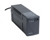 Fellowes Line Interactive w/AVR UPS Battery Backup System, Four-Outlet 600 Volt-Amps