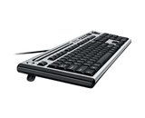 Fellowes Microban Slimline Keyboard (9893301)