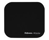 Fellowes Mouse Pad with Microban Protection, Black