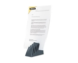 Fellowes Partition Additions Mini Step File, 2.5 Inch Width x 3.375 Inch Height, Graphite (7502101)