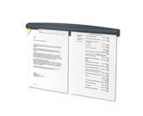 Fellowes Partition Additions Note Rail, 18 x 1.93-Inches, Graphite (7502201)